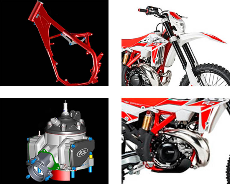 Beta 2018 300 RR 2 stroke Dirt Bike Specs