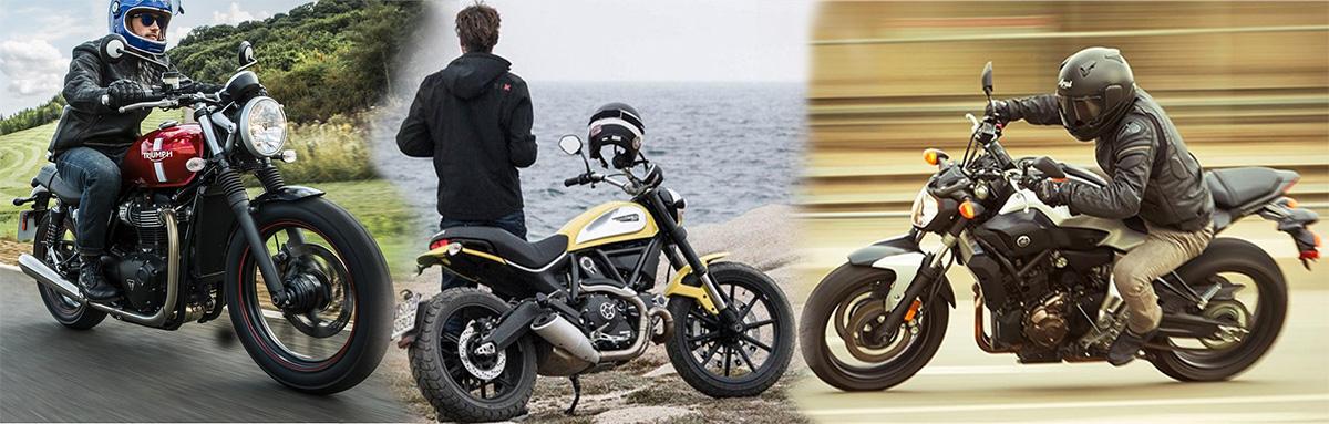 Triumph Street Twin vs Ducati Scrambler Icon vs Yamaha FZ-07