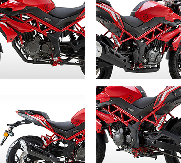 2018 BN 125 Benelli Naked Motorcycle Specs