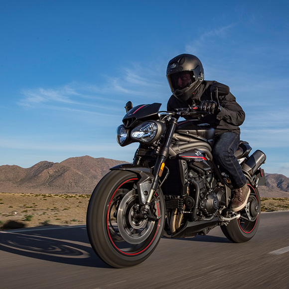 Triumph 2018 Speed Triple Family Roadsters Review Price