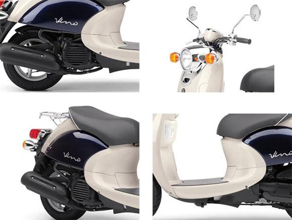2018 Vino Classic Yamaha Scooter Specs