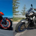 KTM Super Duke vs Aprilia Tuono R