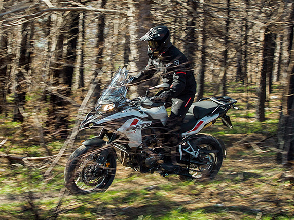 2018 Benelli TRK 502 X Ultimate Adventure Bike