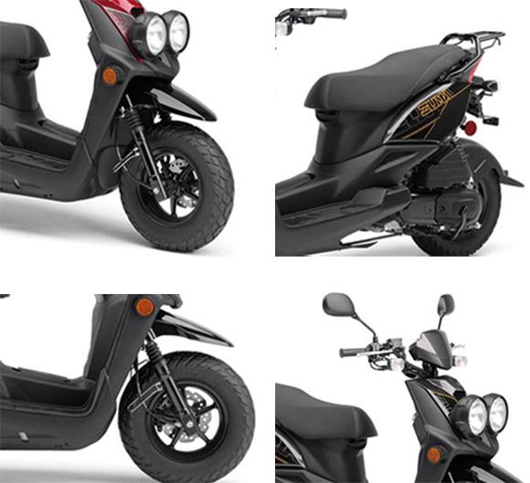 Zuma 50F 2018 Yamaha Scooter Specs
