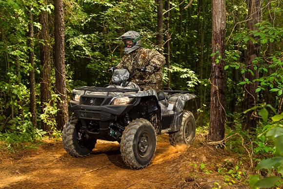 2018 KingQuad 750AXi Camo Suzuki Powerful ATV
