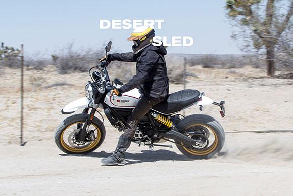 2018 Scrambler Desert Sled Ducati