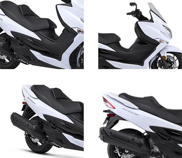 Suzuki 2018 Burgman 400 Scooter Specs