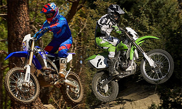 Yamaha WR450F vs Kawasaki KLX450R Comparison Review
