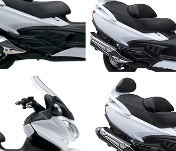 2018 Suzuki Burgman 650 Executive Scooter Specs