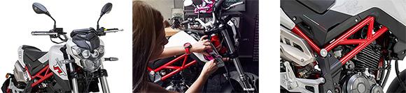 Benelli 2018 TNT 135 Naked Sports Bike Specs