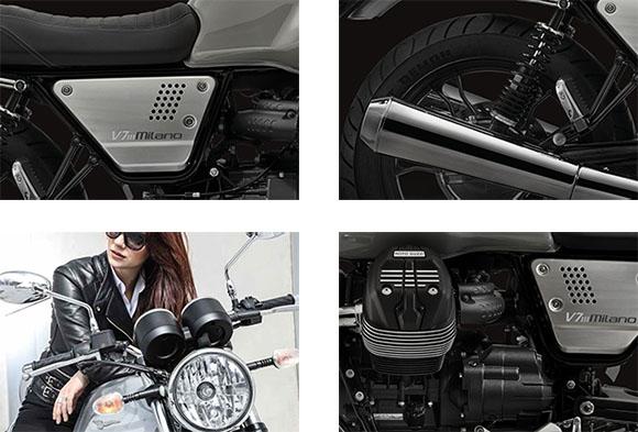 Moto Guzzi V7 III Milano 2018 Classic Motorcycle Specs