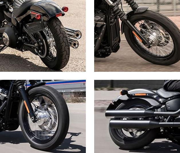 2019 Street Bob Harley-Davidson Softail Specs