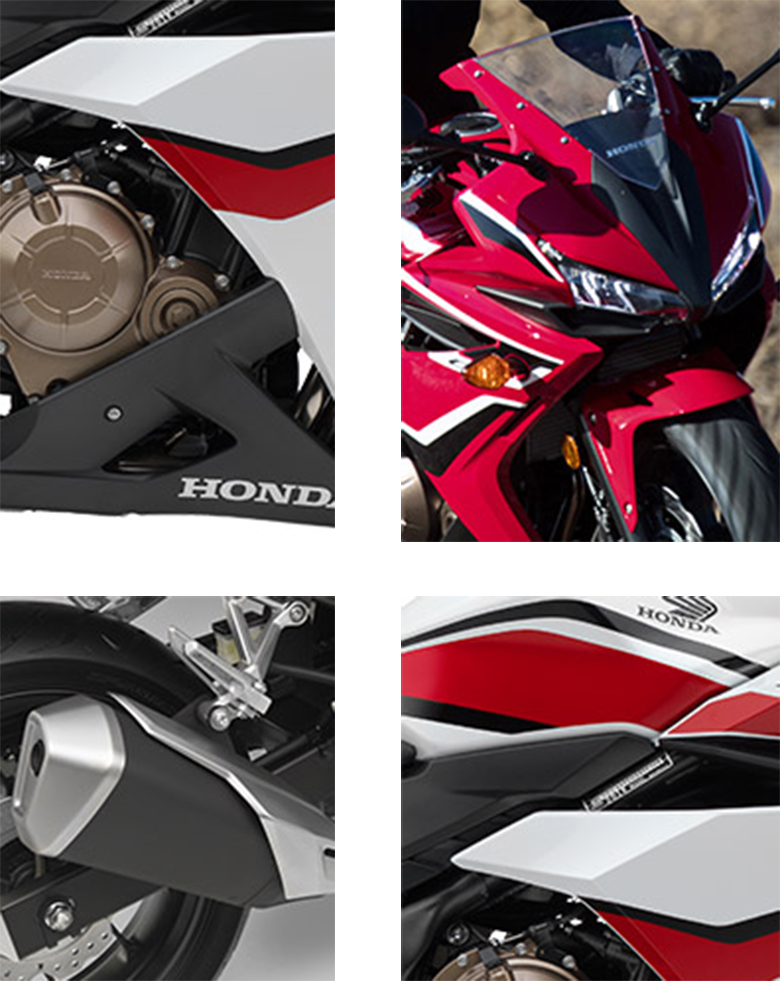 2018 CBR500R Honda Sports Bike Specs