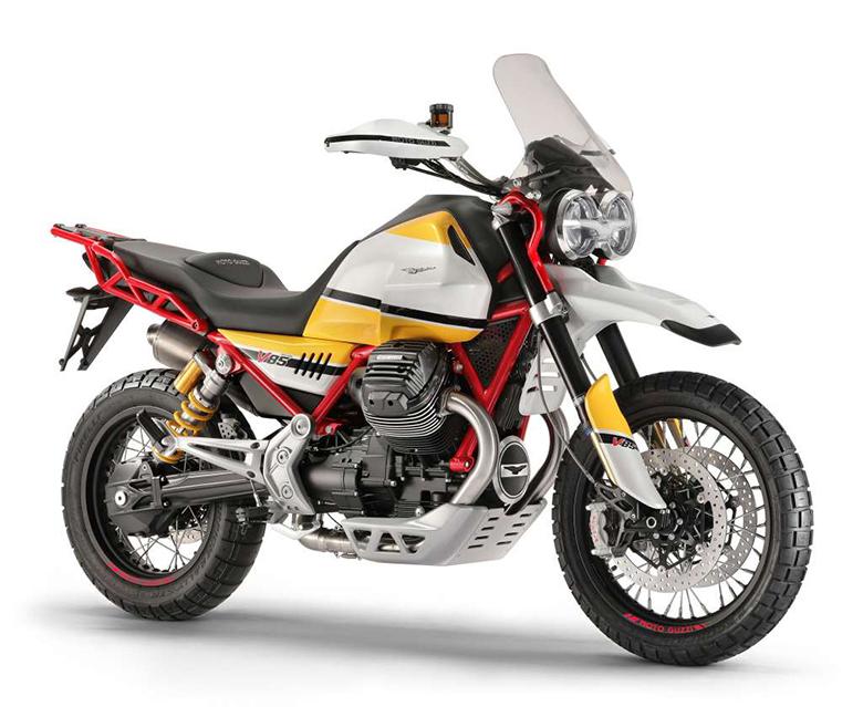 2018 Moto Guzzi V85 Enduro Bike