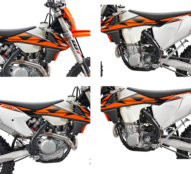 KTM 2018 500 EXC-F Powerful Dirt Bike Specs