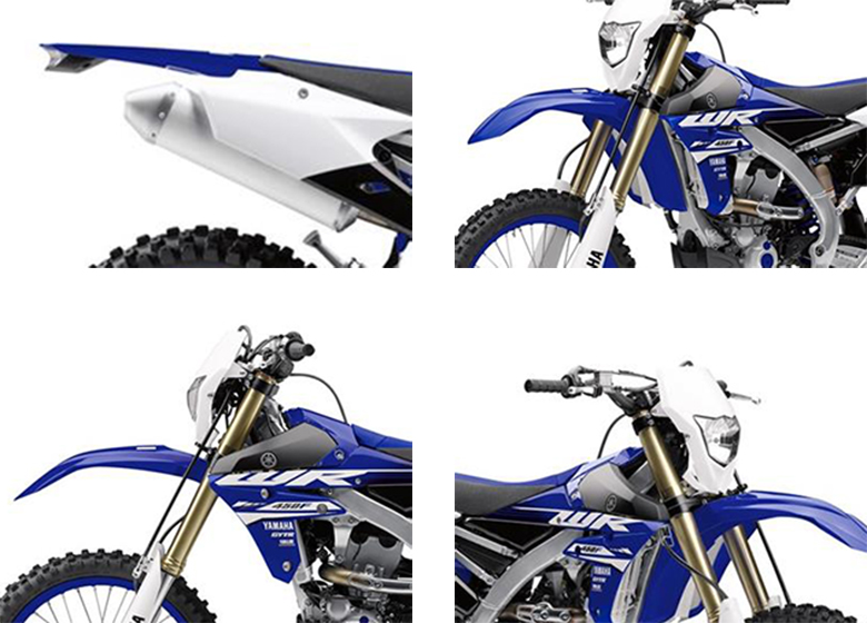 Yamaha 2018 WR450F Dirt Motorcycle Specs