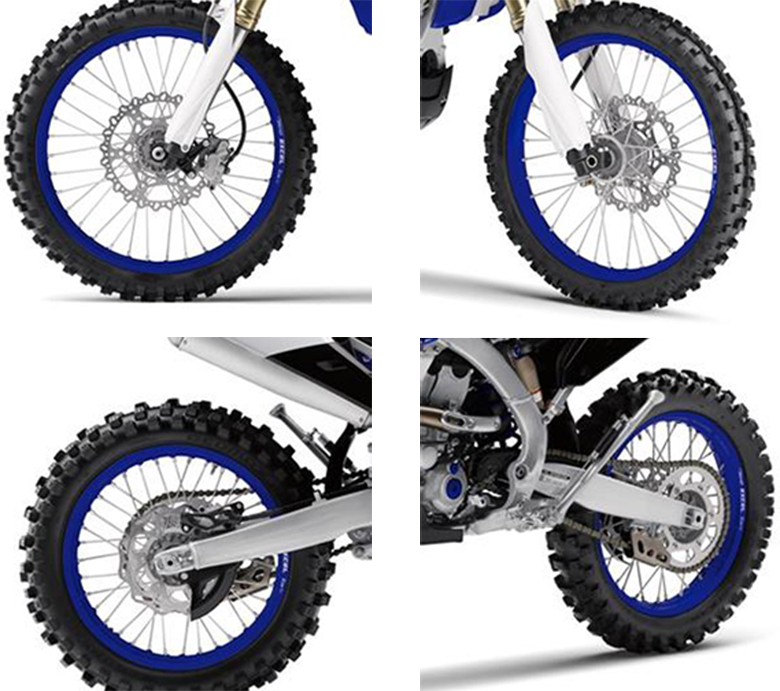 Yamaha 2018 YZ450FX Cross Country Motorcycle Specs Specs