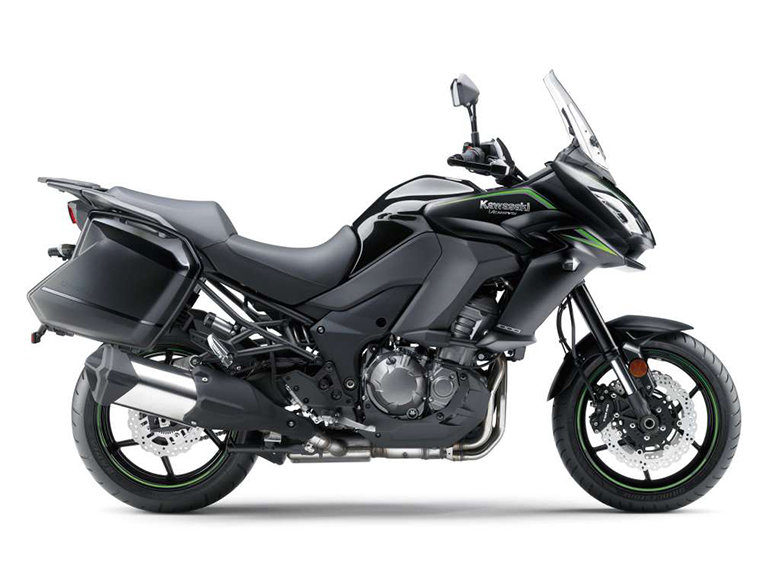 Kawasaki 2018 Versys 1000 LT ABS Powerful Adventure Motorcycle