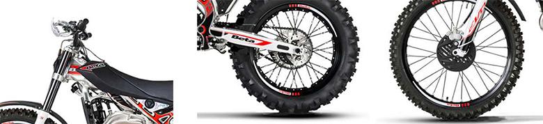 2018 EVO 125 Sport Beta Dirt Bike Specs