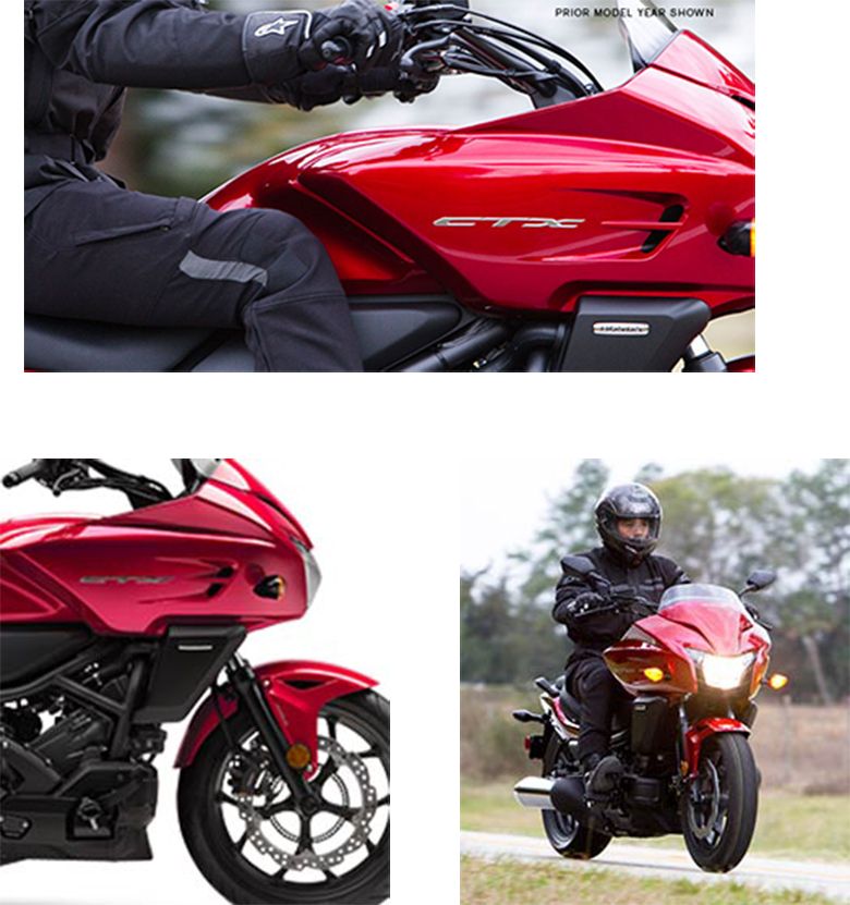 2018 Honda CTX700 DCT Touring Motorcycle Specs