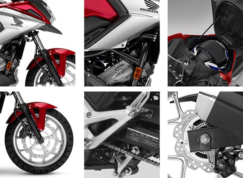2018 NC750X Honda Adventure Bike Specs