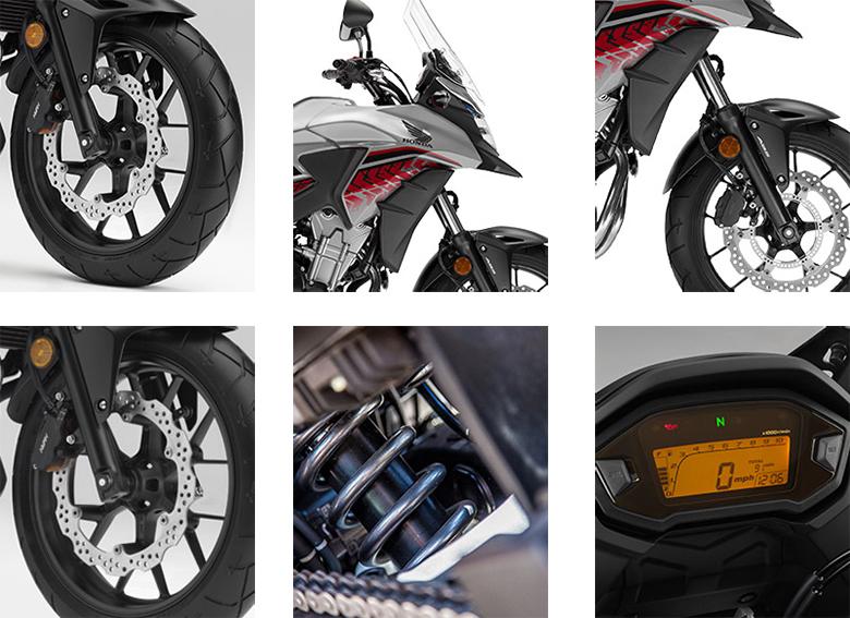 CB500X 2018 Honda Adventure Motorcycle Specs