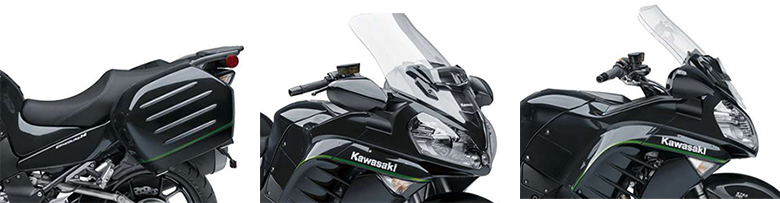 Kawasaki 2018 Concours 14 ABS Powerful Adventure Bike Specs