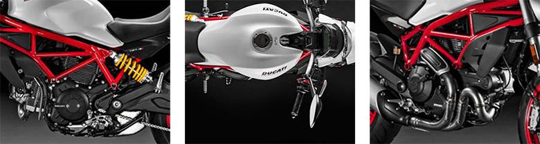 Ducati 2018 Monster 797 Plus Naked Street Bike Specs