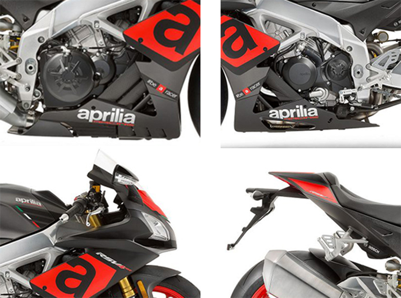 Aprilia 2018 RSV4 RR Sports Bike Specs