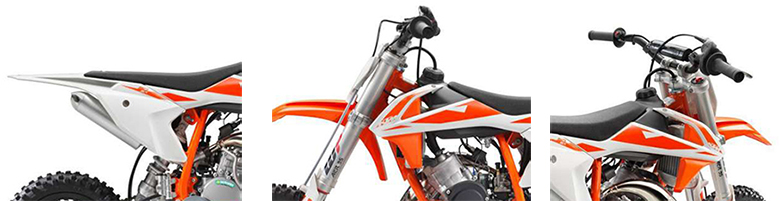 KTM 2019 50 SX Dirt Motorcycle Specs