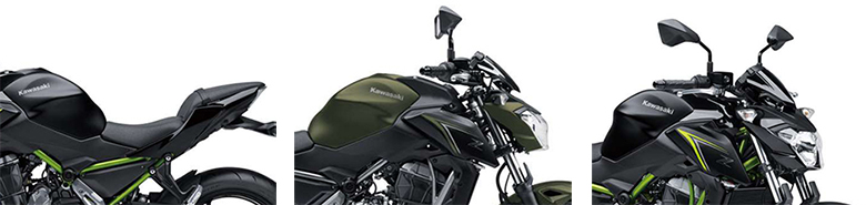 2018 Kawasaki Z650 ABS Sports Motorcycle Specs