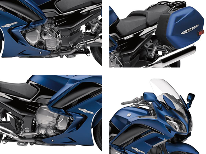 2018 Yamaha FJR1300A Sports Touring Bike Specs