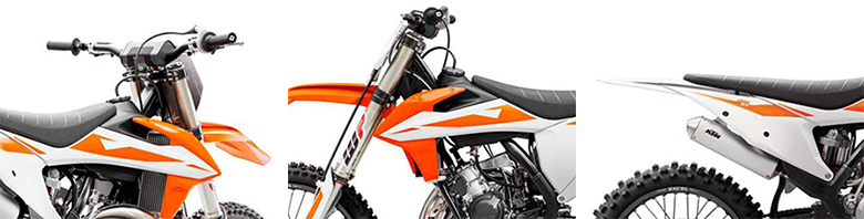 KTM 2019 125 SX Dirt Bike Specs