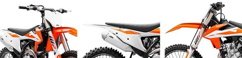 KTM 250 SX-F 2019 Dirt Bike Specs