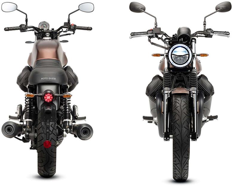 2019 Moto Guzzi V7 III Stone Night Pack Classic Motorcycle