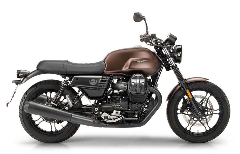 2019 Moto Guzzi V7 III Stone Night Pack Classic Motorcycle Review