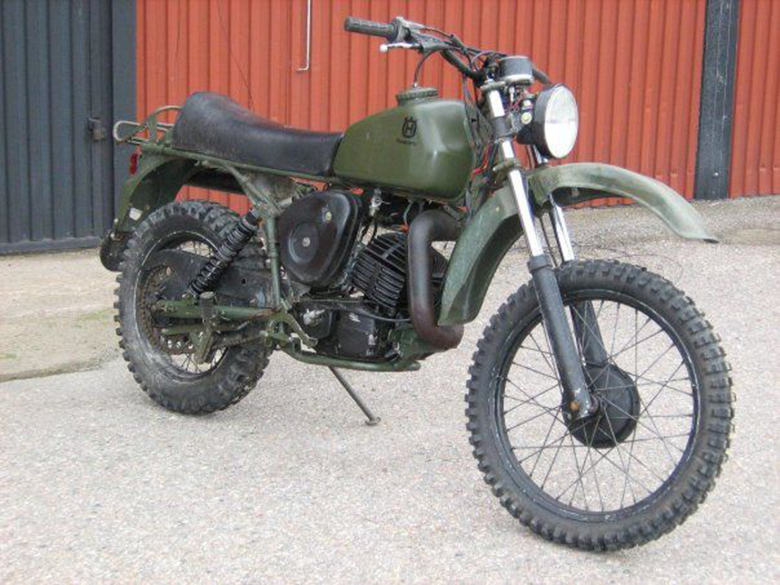 Top Ten Military Bikes Ever Used