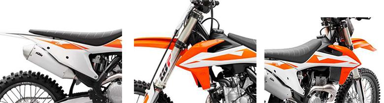 KTM 2019 350 SX-F Powerful Dirt Bike Specs