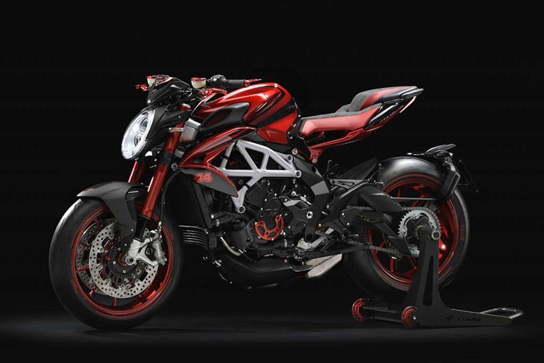 2019 MV Agusta 800 RR LH44 Naked Motorcycle Review Specs
