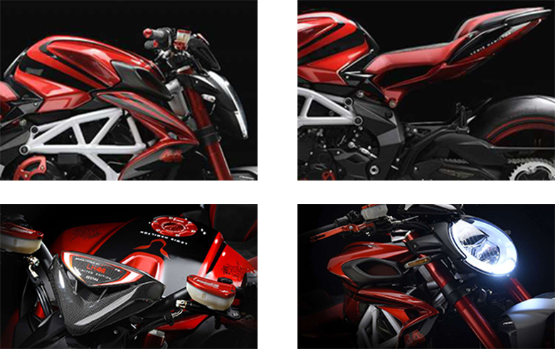 2019 MV Agusta 800 RR LH44 Naked Motorcycle Specs