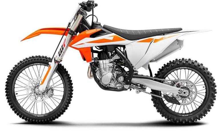 450 SX-F 2019 KTM Powerful Dirt Motorcycle