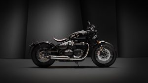 2019 Triumph Bobber TFC Motorcycle Side - Bikes Catalog