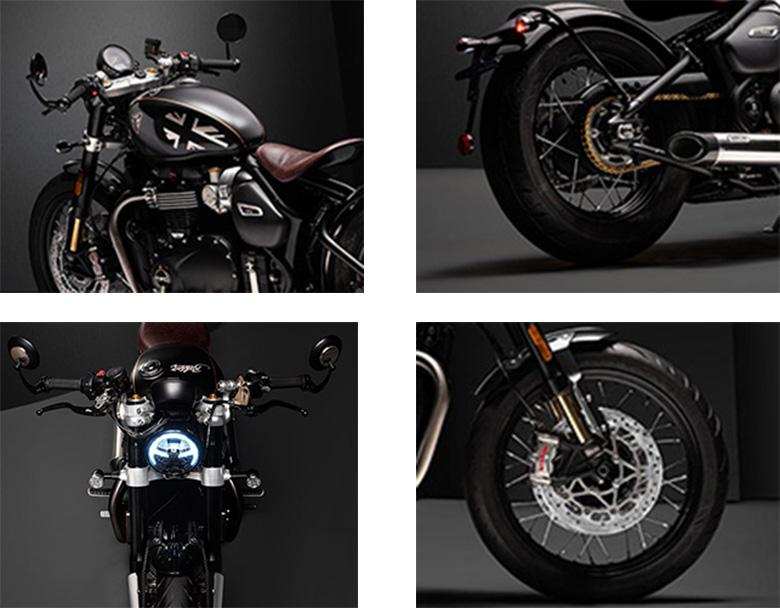 2019 Triumph Bobber TFC Motorcycle Specs