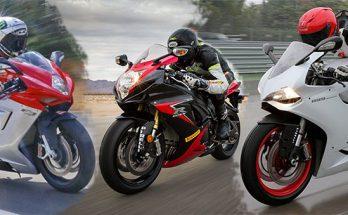 MV Augusta F3 800 vs Suzuki GSX-R750 vs Ducati 899 Panigale