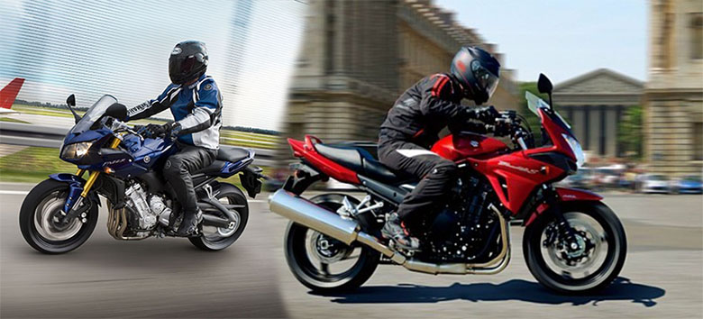 Yamaha FZ1 vs. Suzuki Bandit 1250S Comparison Review