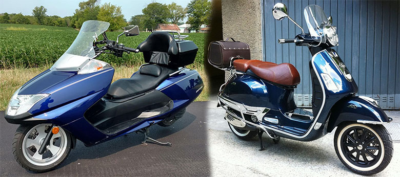 Yamaha Morpheus vs. Vespa 250 GTS Comparison Review