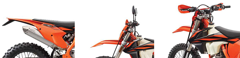 2019 KTM 250 EXC-F Enduro Dirt Motorcycle Specs