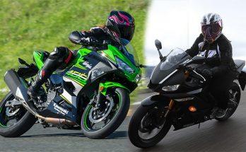 Kawasaki 2019 Ninja 400 vs Yamaha 2019 YZF-R3
