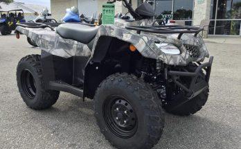 2019 KingQuad 400FSi Camo Suzuki Utility ATV