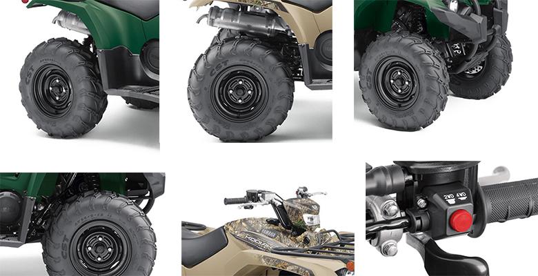 2019 Yamaha Kodiak 450 EPS Utility Quad Bike Specs
